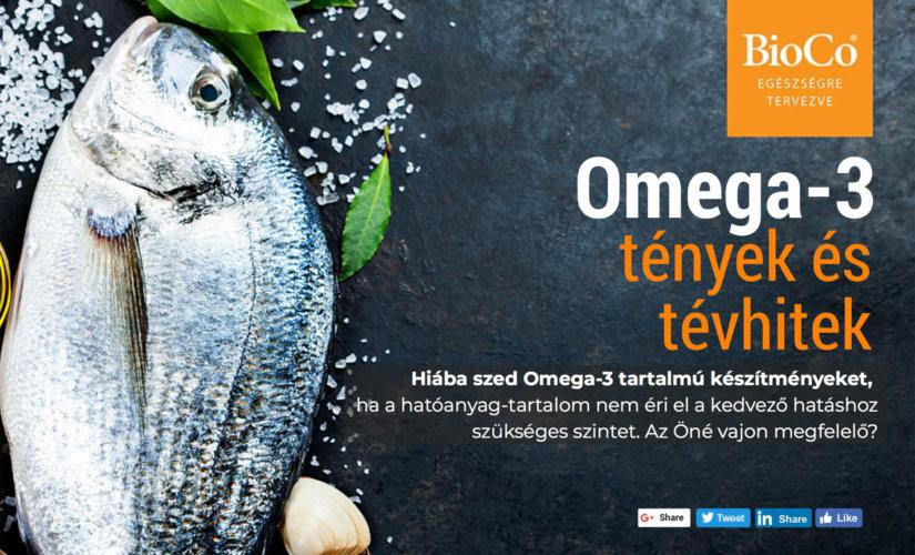 Omega 3 – tények és tévhitek